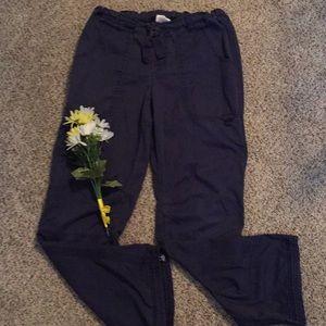 Navy blue Koi Scrub Pants